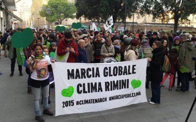 Marcia Globale per il Clima a Rimini 29-11-2015 ore 15:00