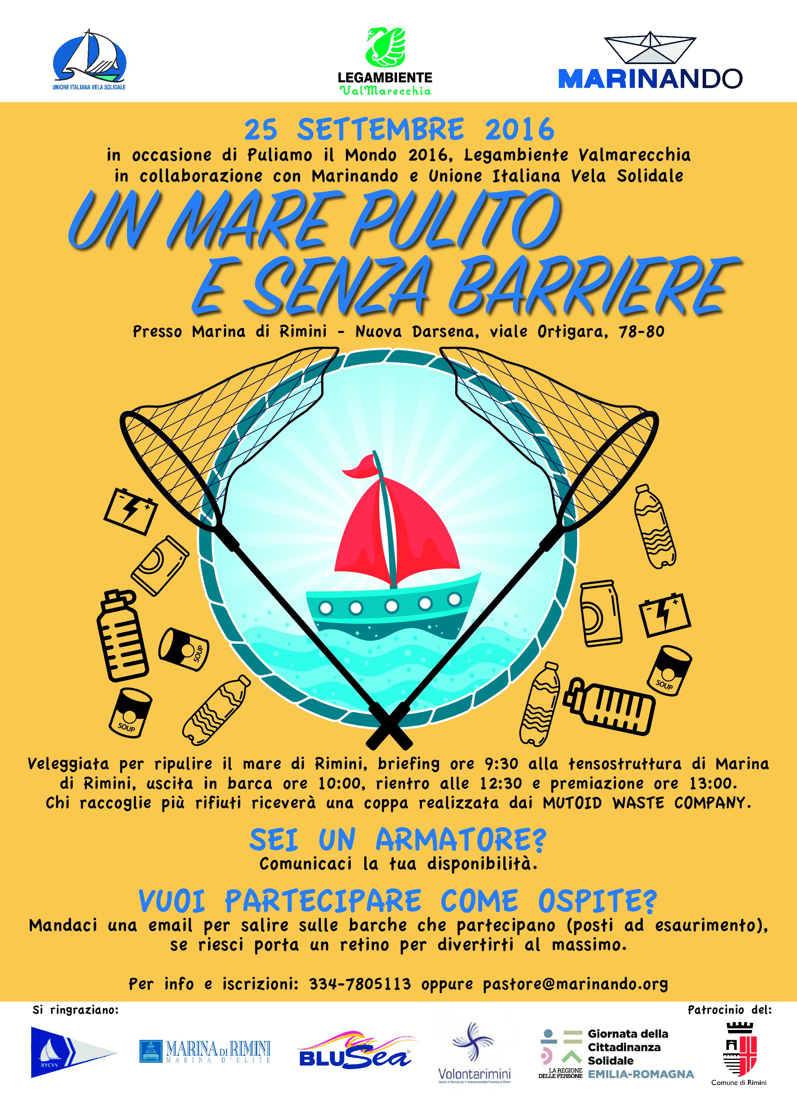 Puliamo il mondo 2016 Rimini