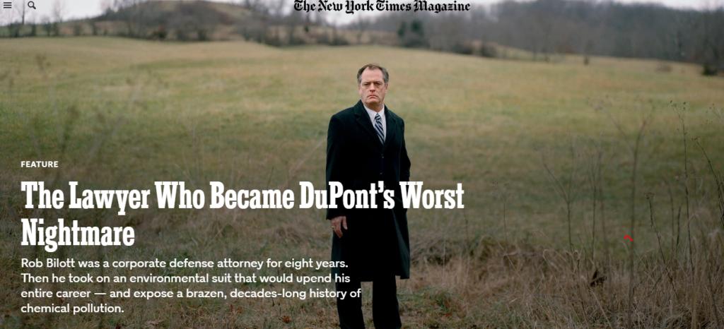 Articolo NY Times